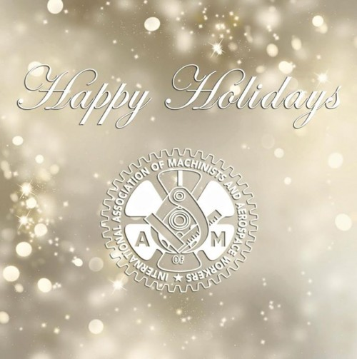 IAMAW Holiday greeting